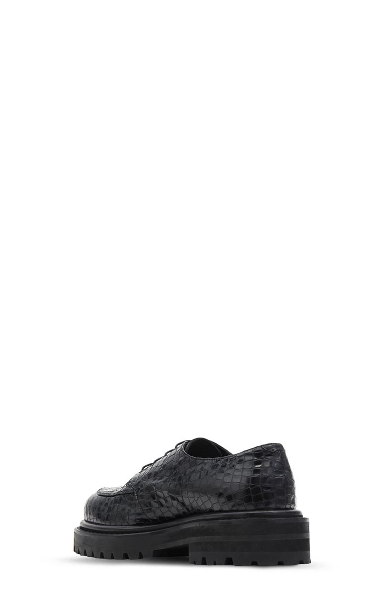 JUST CAVALLI Leather lace-up shoes Laced shoes Man e