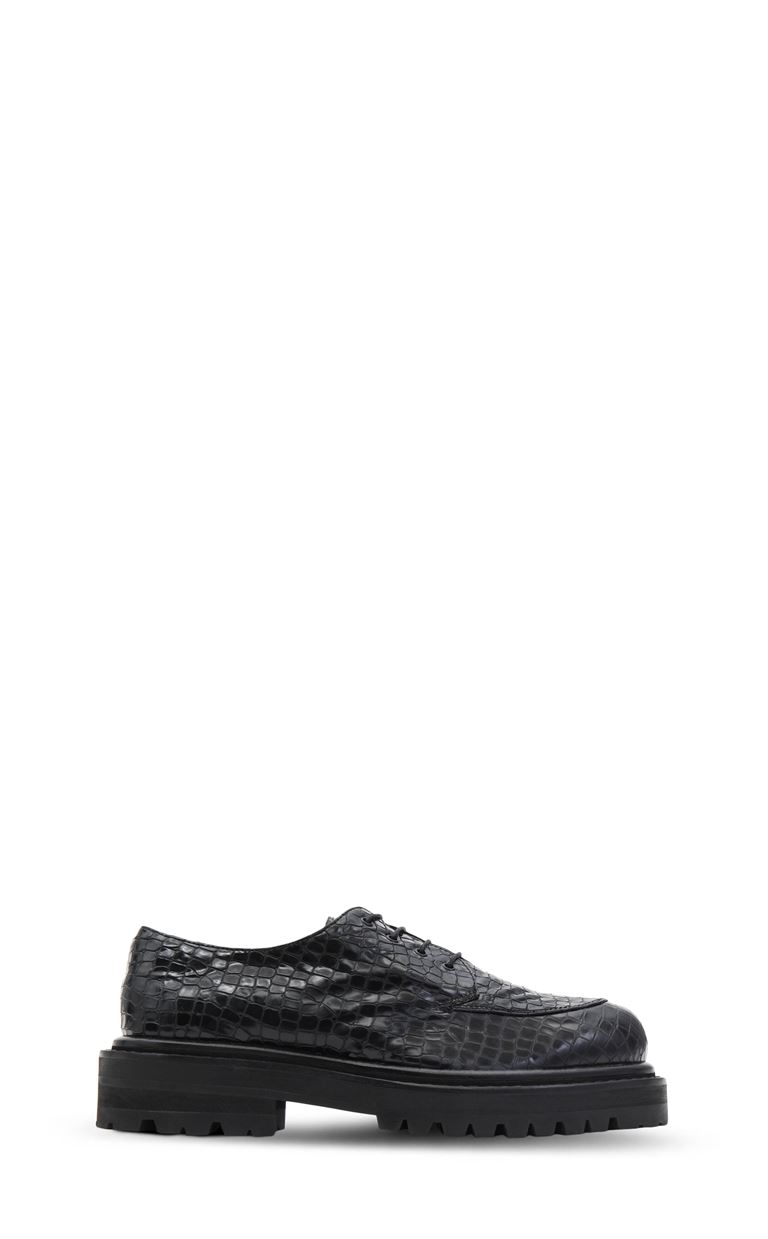 JUST CAVALLI Leather lace-up shoes Laced shoes Man f