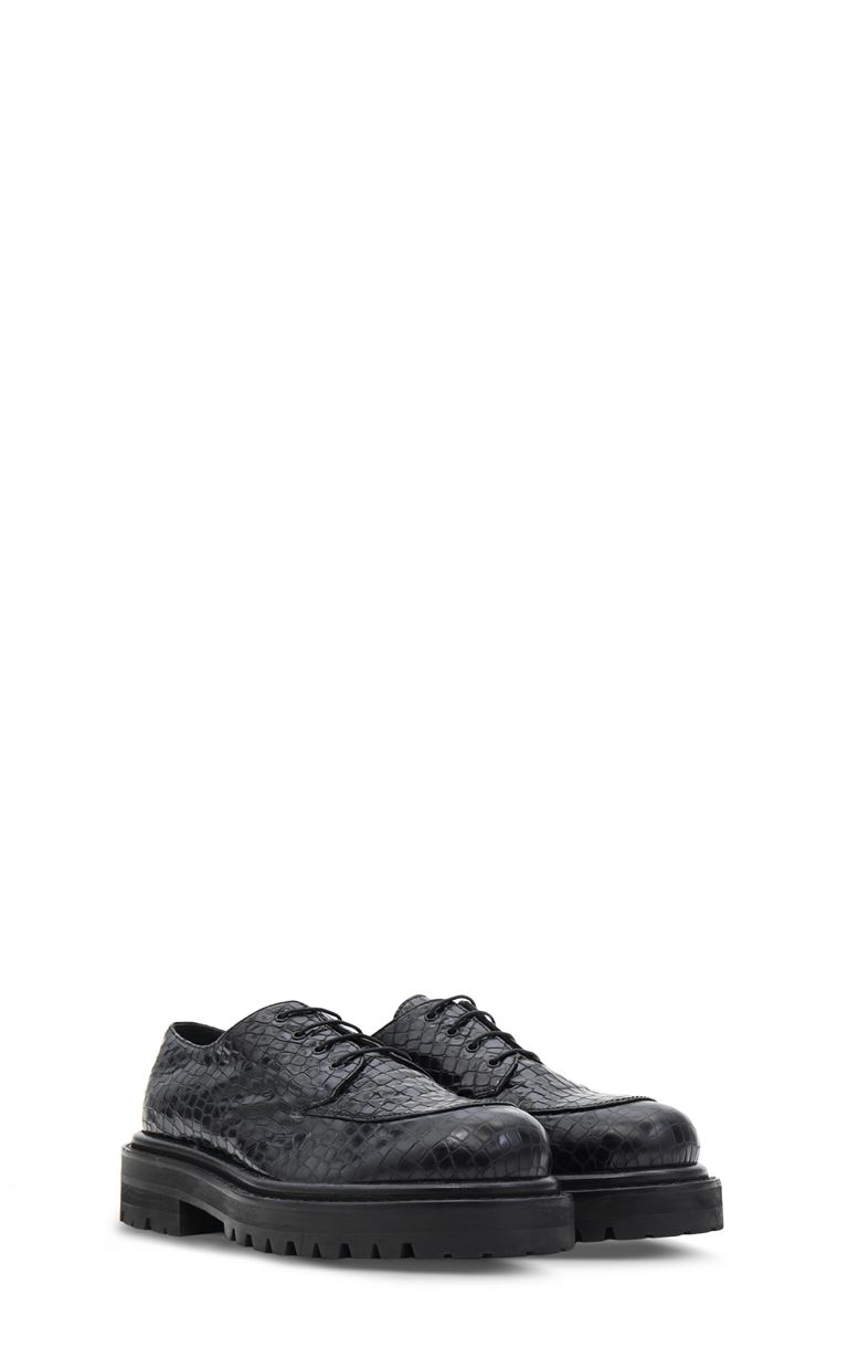 JUST CAVALLI Leather lace-up shoes Laced shoes Man r