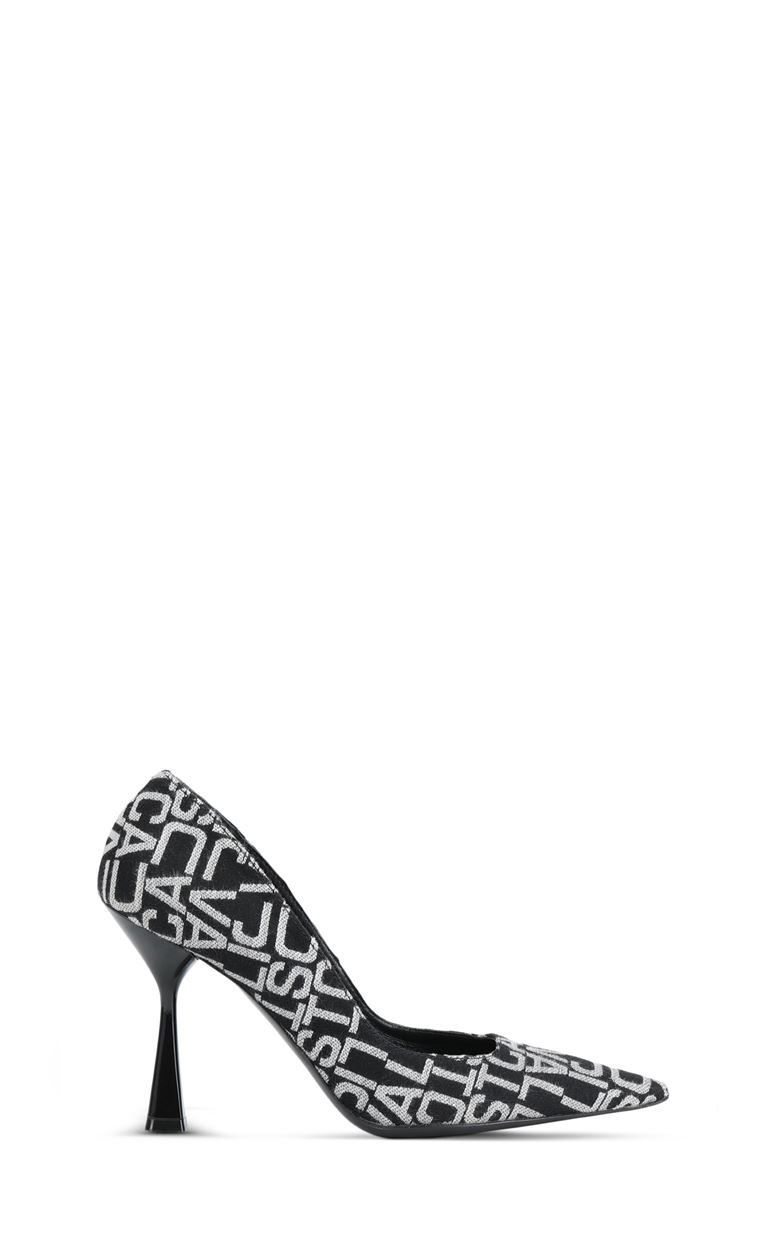 JUST CAVALLI Court shoe with logo Pump Woman f