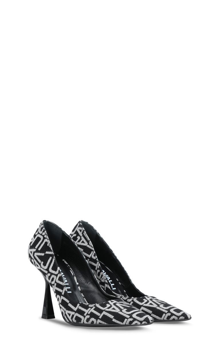 JUST CAVALLI Court shoe with logo Pump Woman r