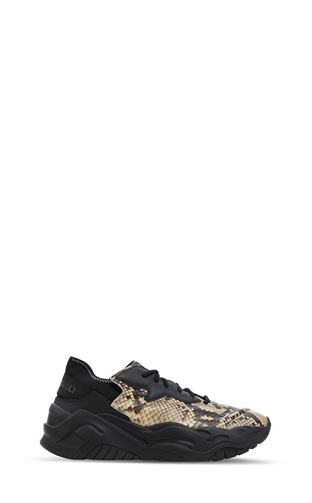 JUST CAVALLI Moccassins Man Crocodile-effect loafers f