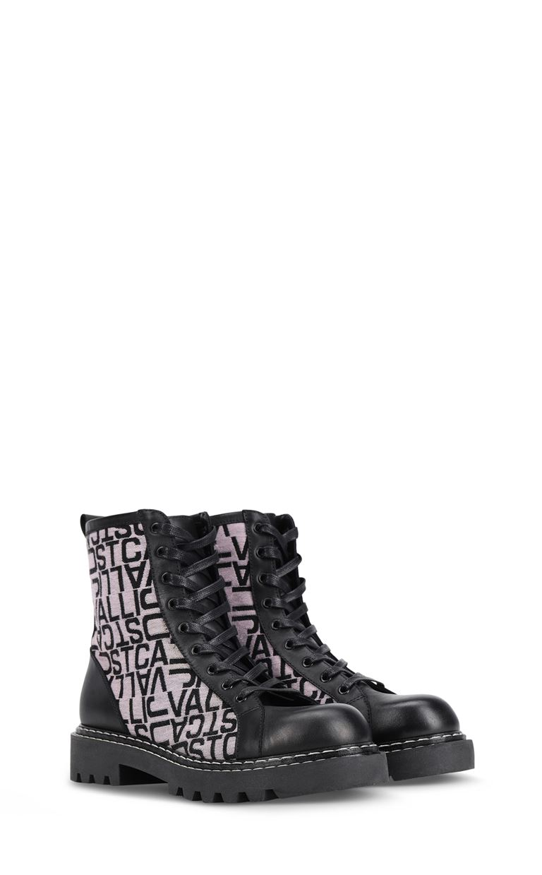 JUST CAVALLI Logoed boots Ankle boots Woman r