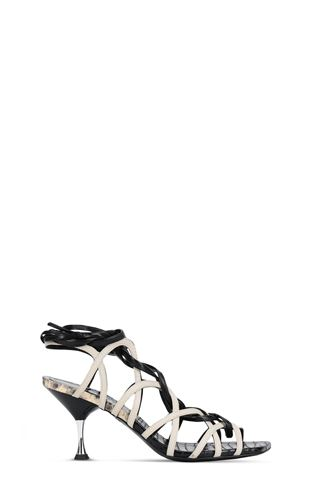 JUST CAVALLI Sandals Woman Sliders with logo f