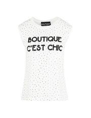 Sleeveless t-shirt Woman BOUTIQUE MOSCHINO