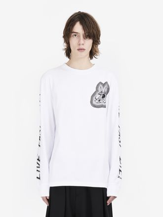 """""""Bunny Be Here Now"""" Long Sleeve T-Shirt"""