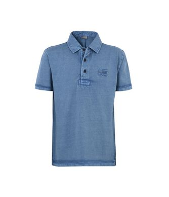NAPAPIJRI K ERSKINE JUNIOR KID SHORT SLEEVE POLO,SLATE BLUE