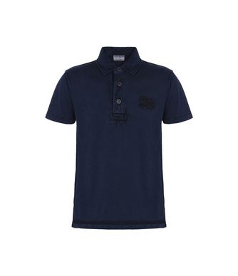 NAPAPIJRI K ERSKINE JUNIOR KID SHORT SLEEVE POLO,DARK BLUE