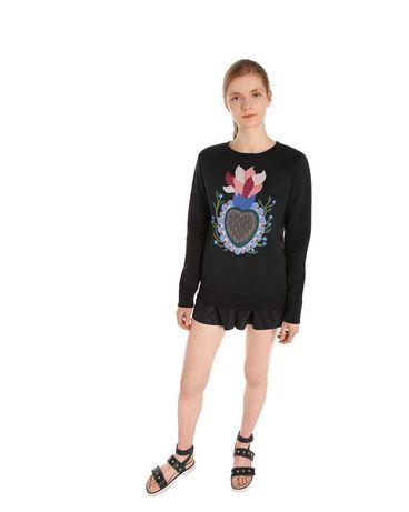 REDValentino MR0MF04H3AP 0NO Sweatshirt Woman e