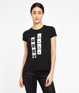 KARL LAGERFELD PHOTO BOOTH TEE