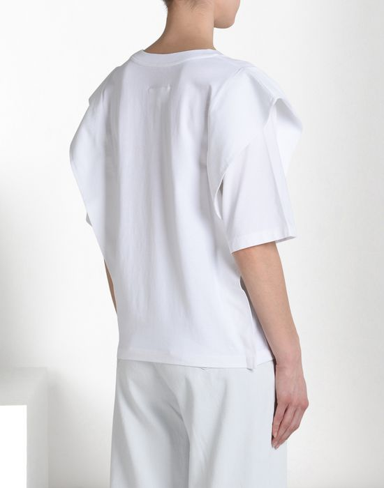 MM6 MAISON MARGIELA Oversized jersey T-shirt Short sleeve t-shirt D d
