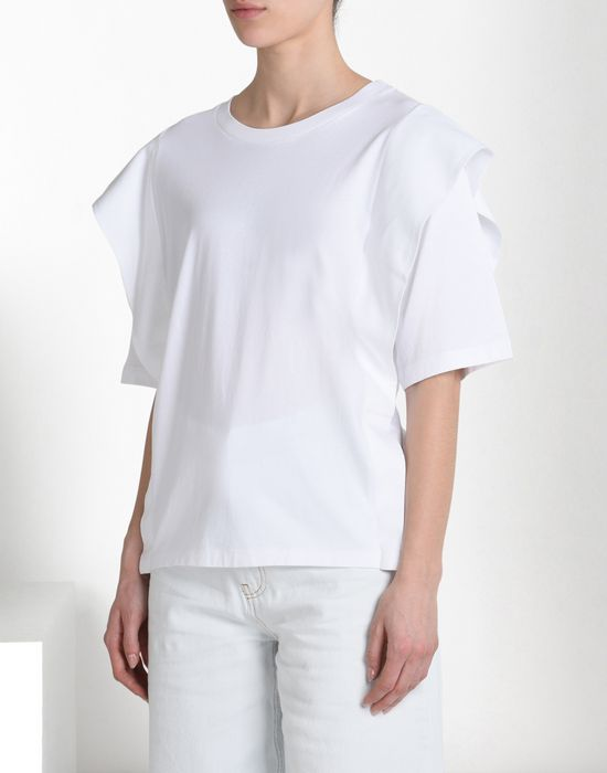 MM6 MAISON MARGIELA Oversized jersey T-shirt Short sleeve t-shirt D f