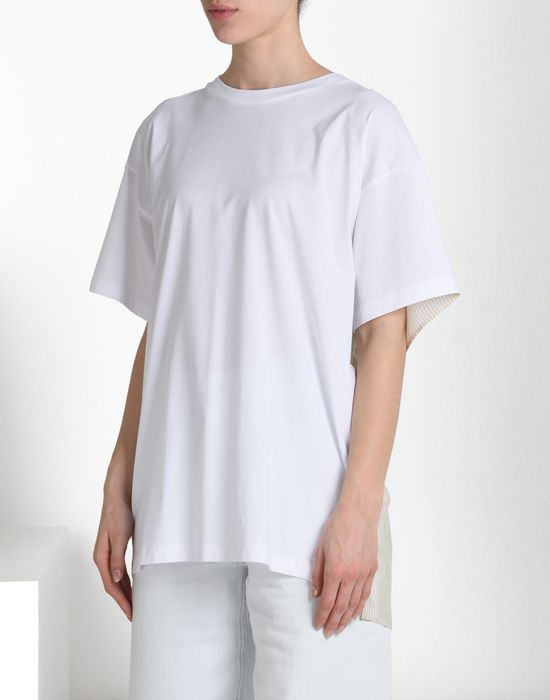 MM6 MAISON MARGIELA T-shirt with contrasting back Short sleeve t-shirt D f