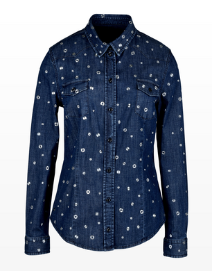 TRUSSARDI - Denim shirt