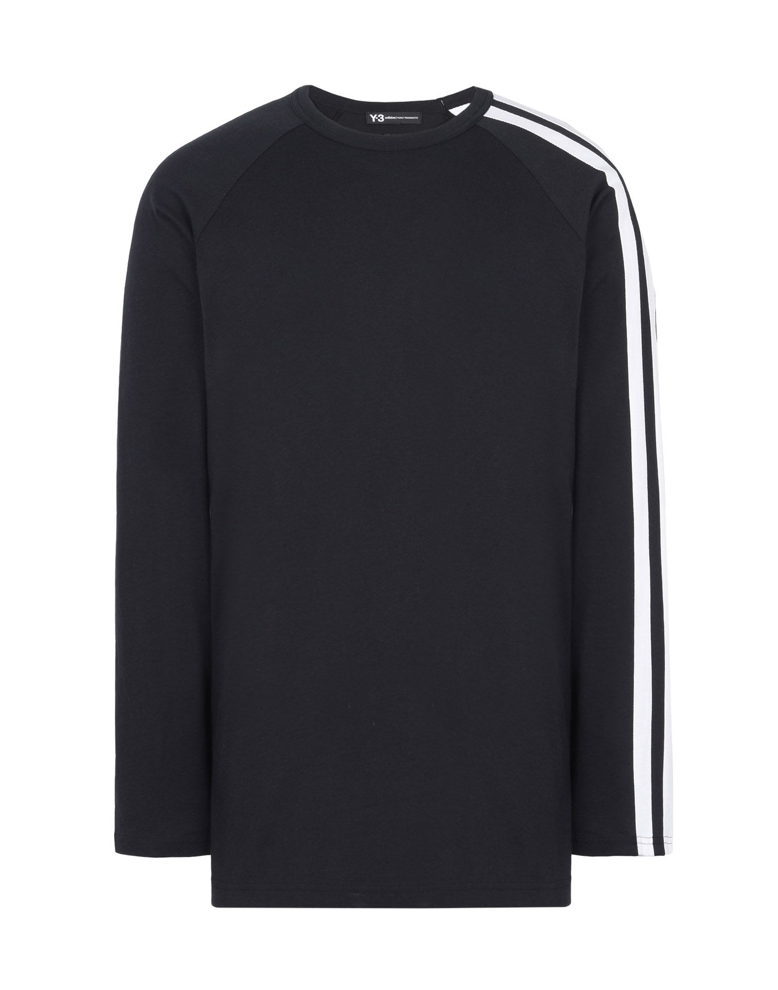 d406d7bf1a69b ... Y-3 Y-3 3-STRIPES LS TEE Long sleeve t-shirt ...