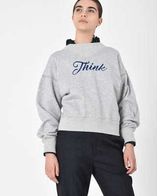 Loby Embroidered cotton sweatshirt