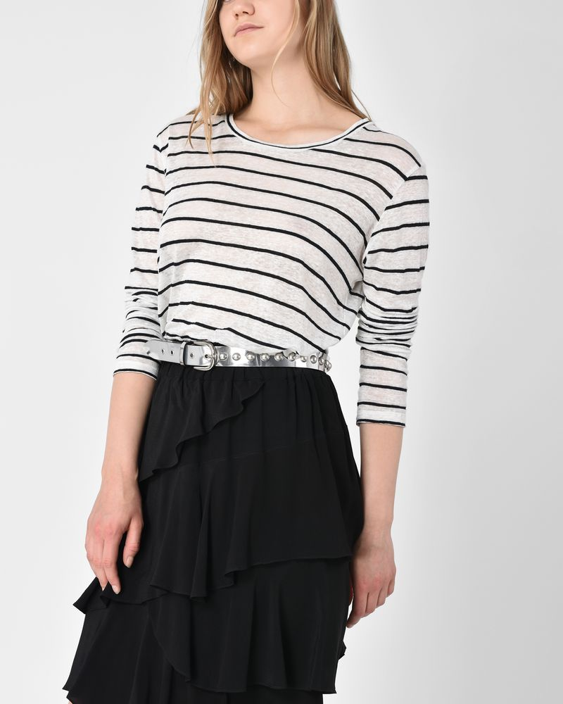 Aaron Long sleeve striped T shirt ISABEL MARANT ÉTOILE