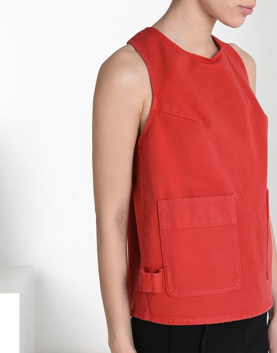 MM6 MAISON MARGIELA Patch pocket top Top D a