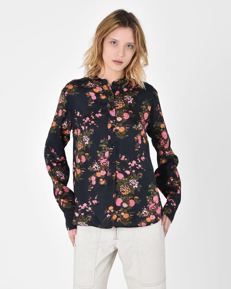 Clearance Enjoy Womens Floral Crepe Blouse Isabel Marant Footlocker Pictures Online 1bP8aVTL
