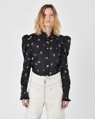 Utah Embroidered Victoriana shirt