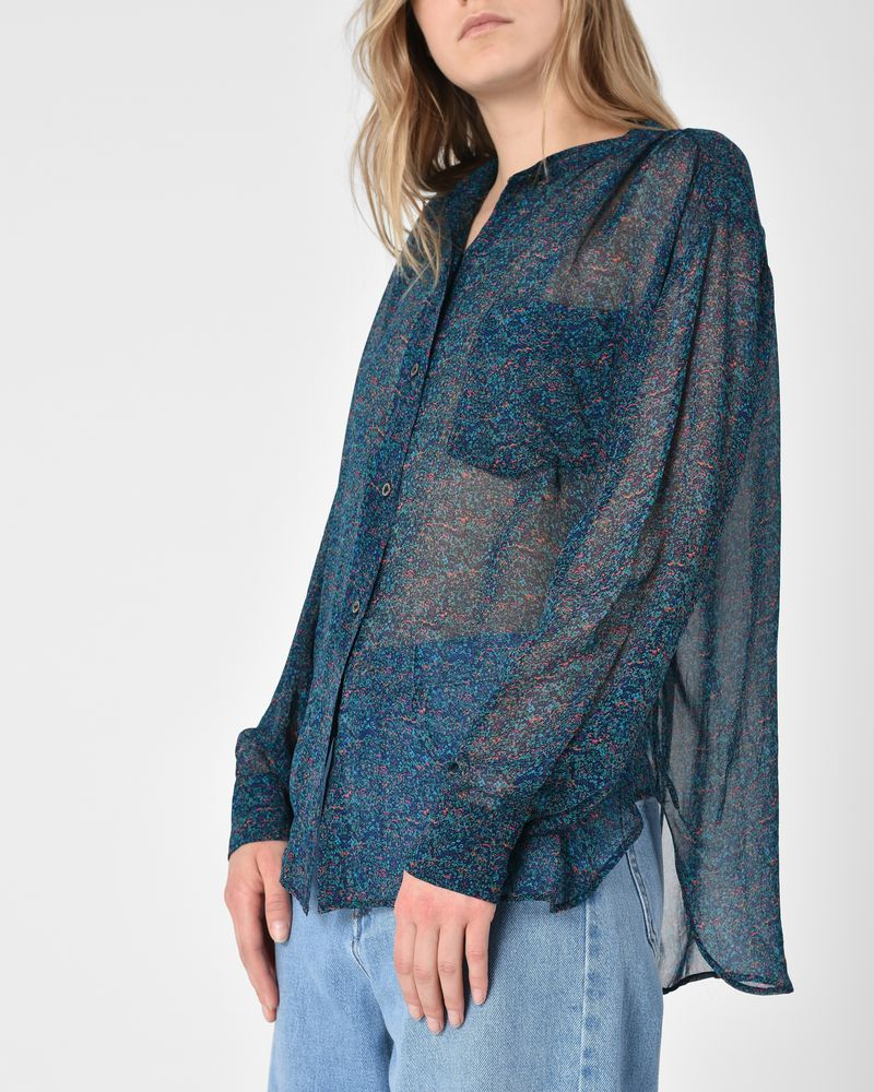 Cheap Release Dates Outlet Pick A Best Isabel Marant Étoile Jaws printed chiffon shirt Largest Supplier For Sale Outlet Best Prices Free Shipping Footlocker Pictures ch5ci3aImB