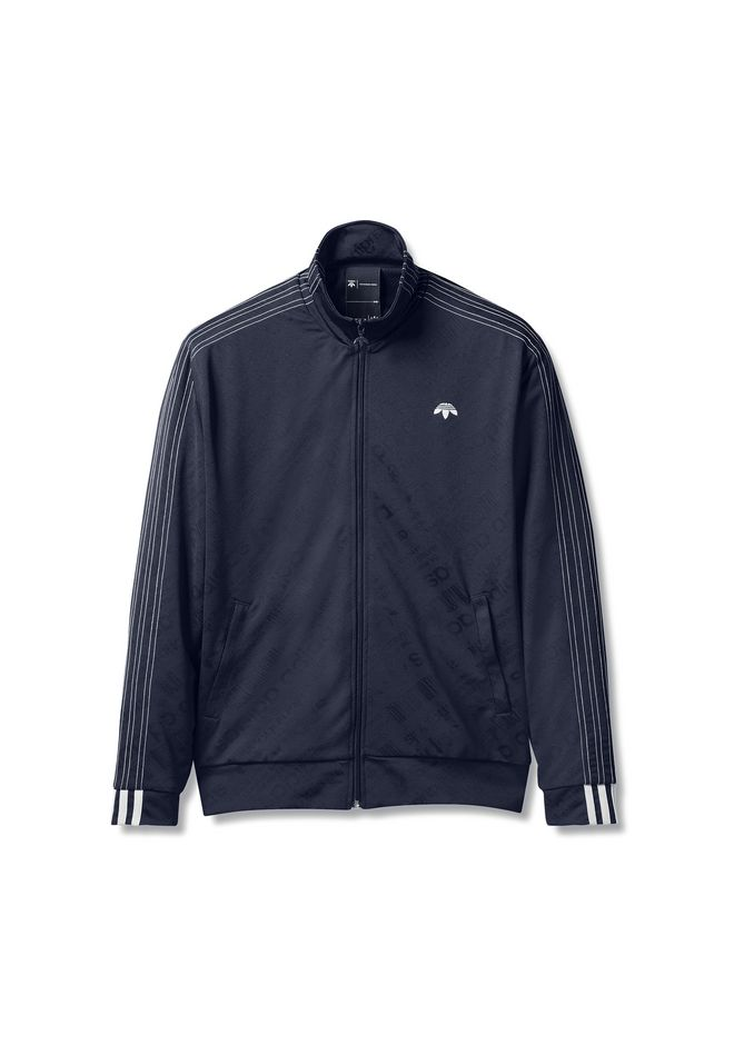 ALEXANDER WANG adidasoriginals-by-aw ADIDAS ORIGINALS BY AW JACQUARD TRACK JACKET