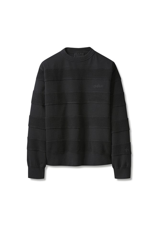 ALEXANDER WANG adidasoriginals-by-aw ADIDAS ORIGNALS BY AW INSIDE-OUT SWEATSHIRT