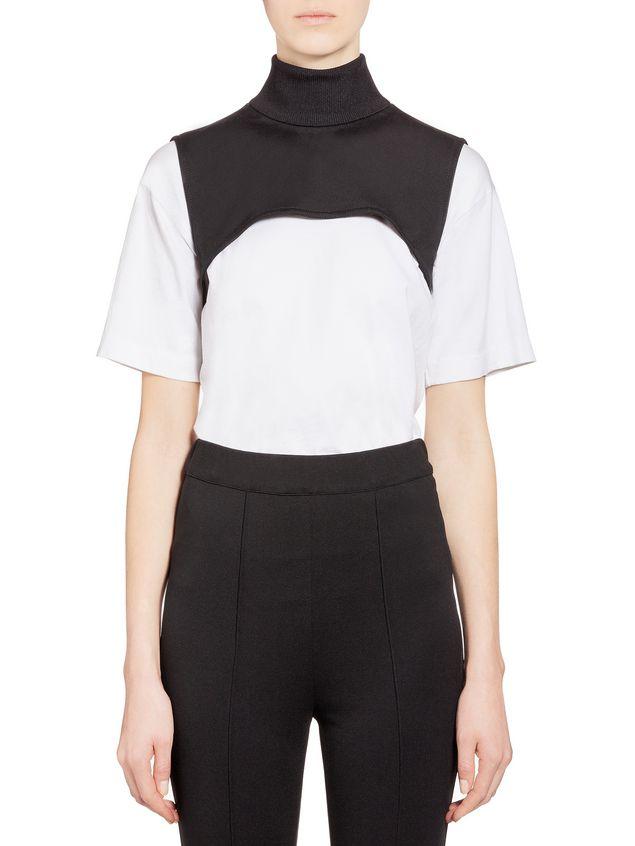 Marni Collar in techno jersey Woman - 1