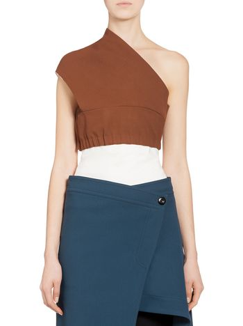 Marni Band in double wool and viscose Woman
