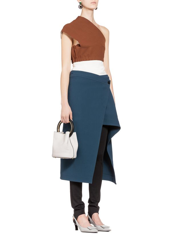 Marni Band in double wool and viscose Woman - 5