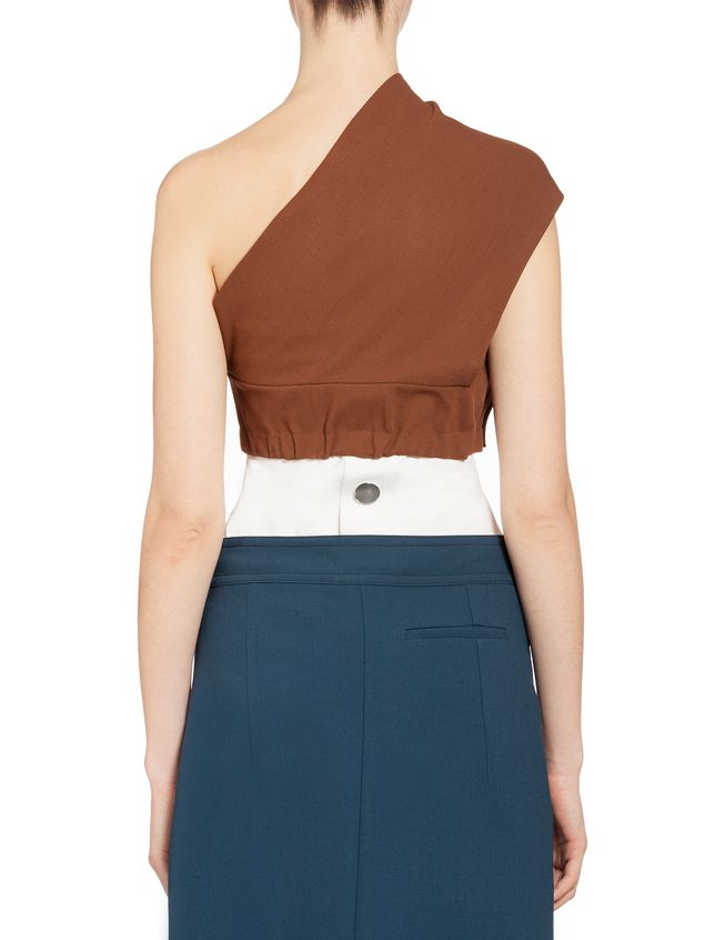 Marni Band in double wool and viscose Woman - 3