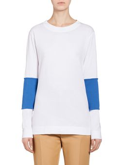 Marni Top in jersey with inserts Woman
