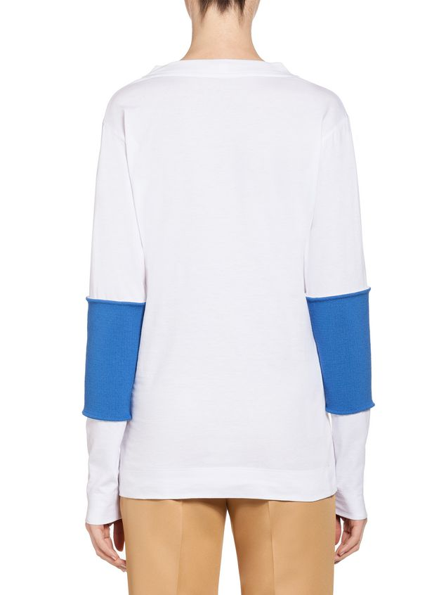 Marni Top in jersey with inserts Woman - 3