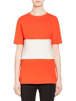 Marni Top in jersey with insert Woman