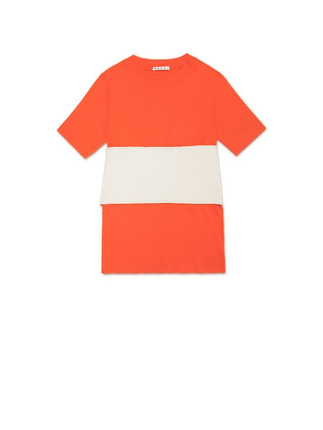 Marni Top in jersey with insert Woman - 2