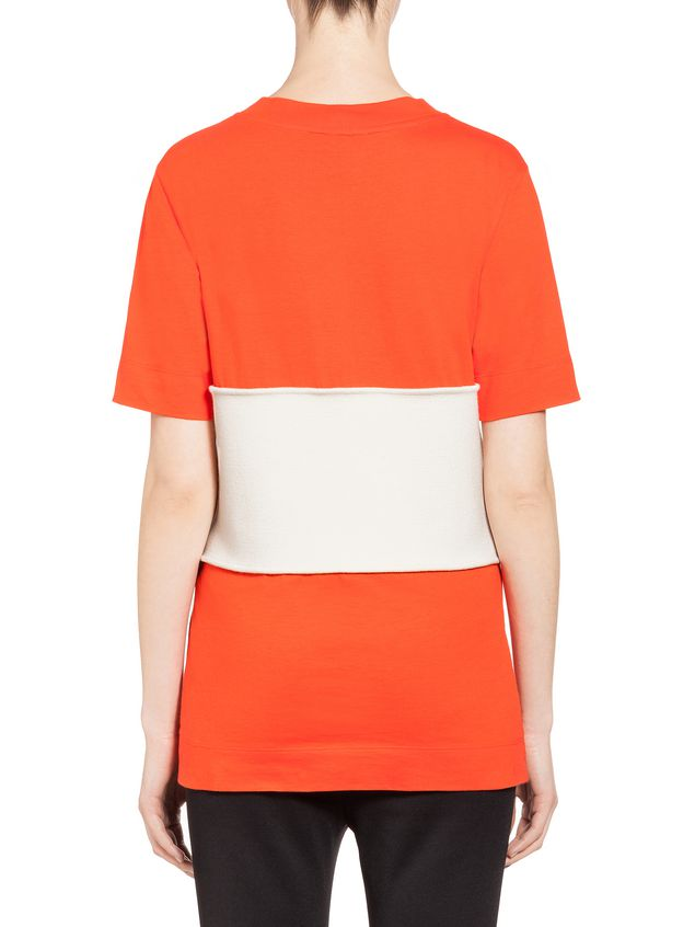 Marni Top in jersey with insert Woman - 3