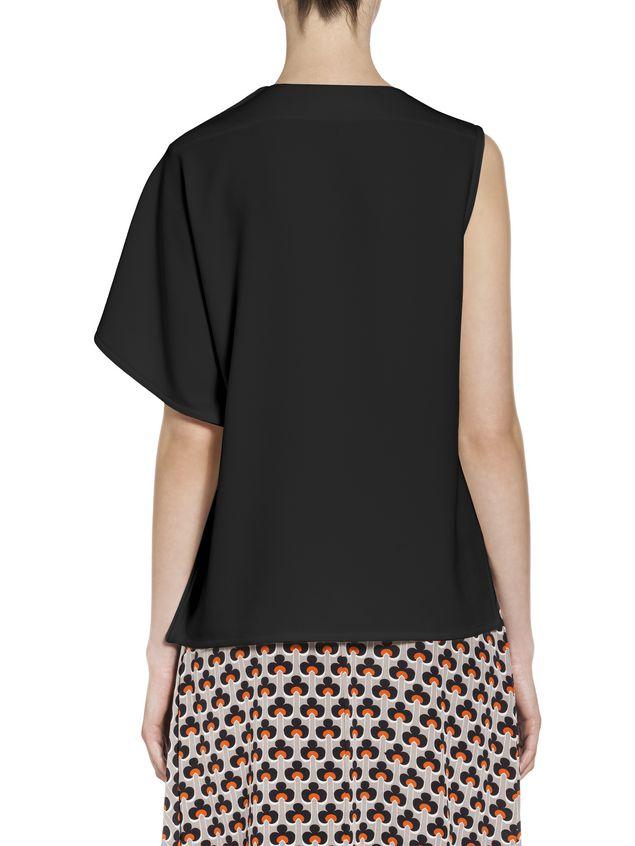 Marni Kimono-sleeved top in acetate Woman