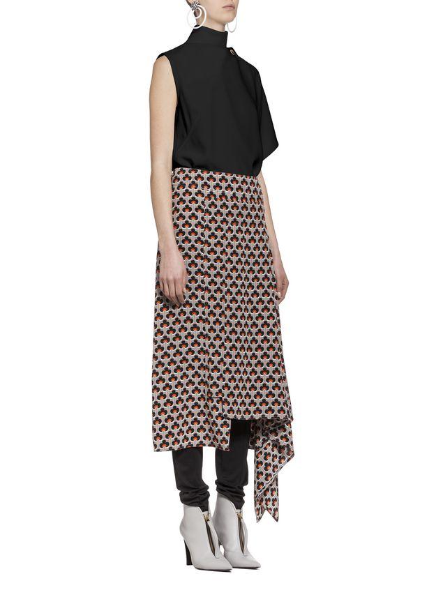 Marni Kimono-sleeved top in acetate Woman - 5