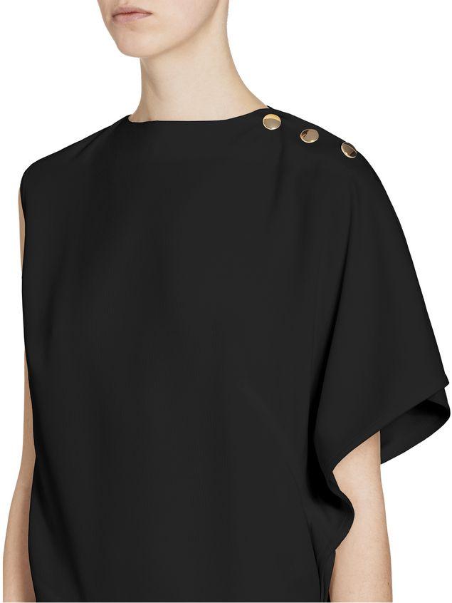 Marni Kimono-sleeved top in acetate Woman - 4