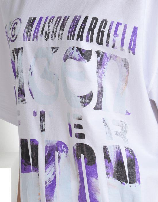 MM6 MAISON MARGIELA Printed MM6 T-shirt Short sleeve t-shirt D a