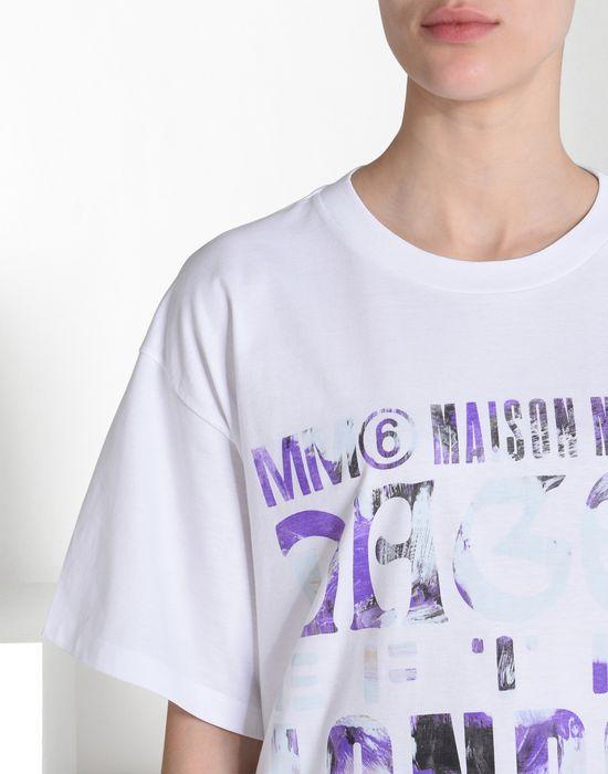 MM6 MAISON MARGIELA Printed MM6 T-shirt Short sleeve t-shirt D e