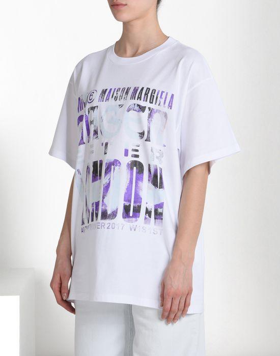 MM6 MAISON MARGIELA Printed MM6 T-shirt Short sleeve t-shirt D f
