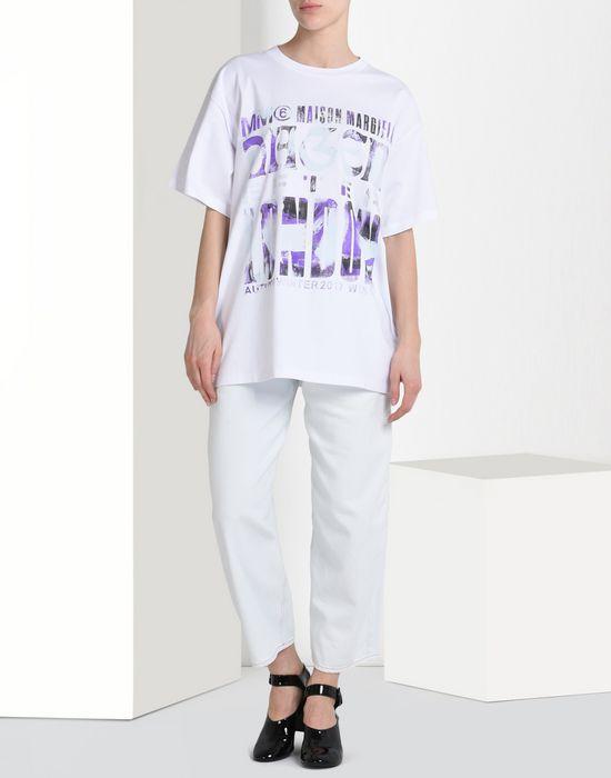MM6 MAISON MARGIELA Printed MM6 T-shirt Short sleeve t-shirt D r