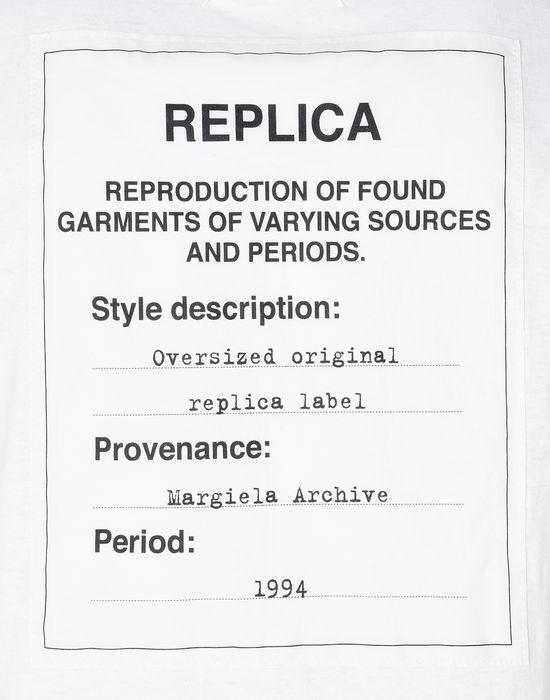 MAISON MARGIELA Replica label tee-shirt Short sleeve t-shirt U a