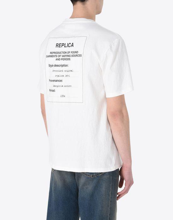 MAISON MARGIELA Replica label tee-shirt Short sleeve t-shirt U e