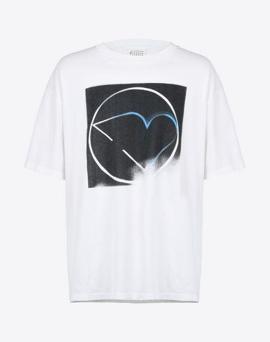 MAISON MARGIELA Short sleeve t-shirt U Symbol print T-shirt f