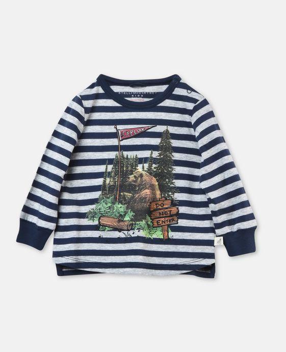 Streifen-Shirt Crumble