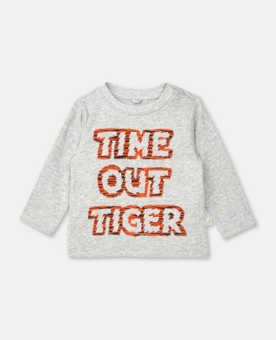 Top Georgie con Stampa Time Out Tiger