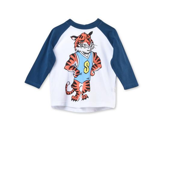 マックス タイガー プリント Tシャツ