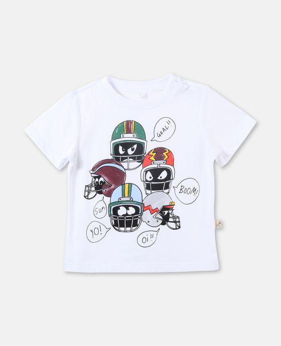 T-shirt Chuckle avec imprimé casques